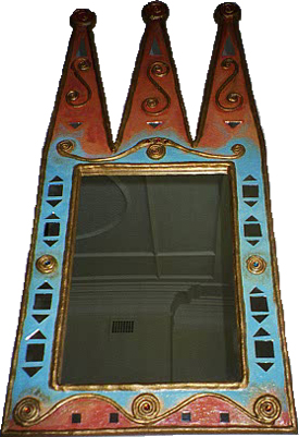 image of Crown style Mirror by sarah howarth