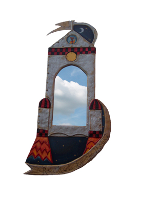 image of  Rocket Mirror by sarah howarth